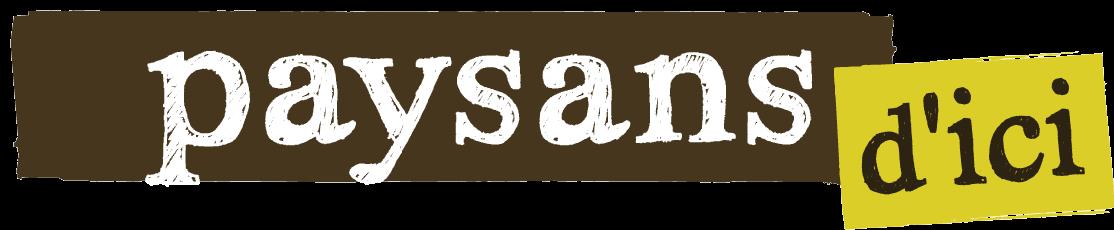 Logo Paysans d'ici